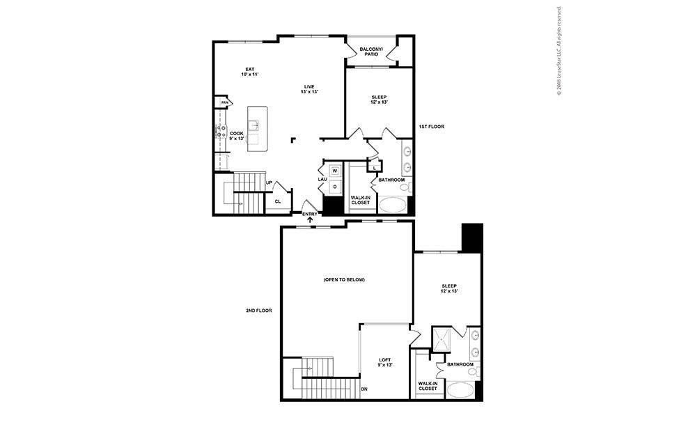 B4 Floor Plan Layout