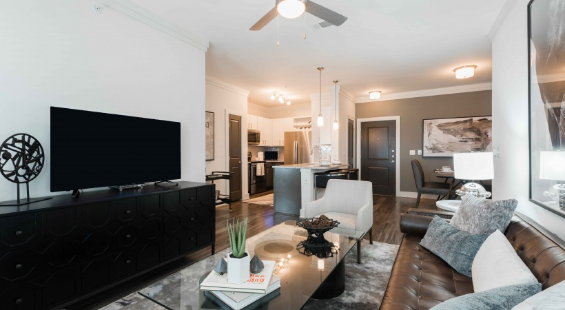 Spacious floor plan at apartments for rent in Fort Worth, TX