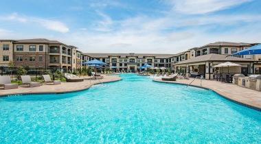 Resort style pool at Cortland Presidio West