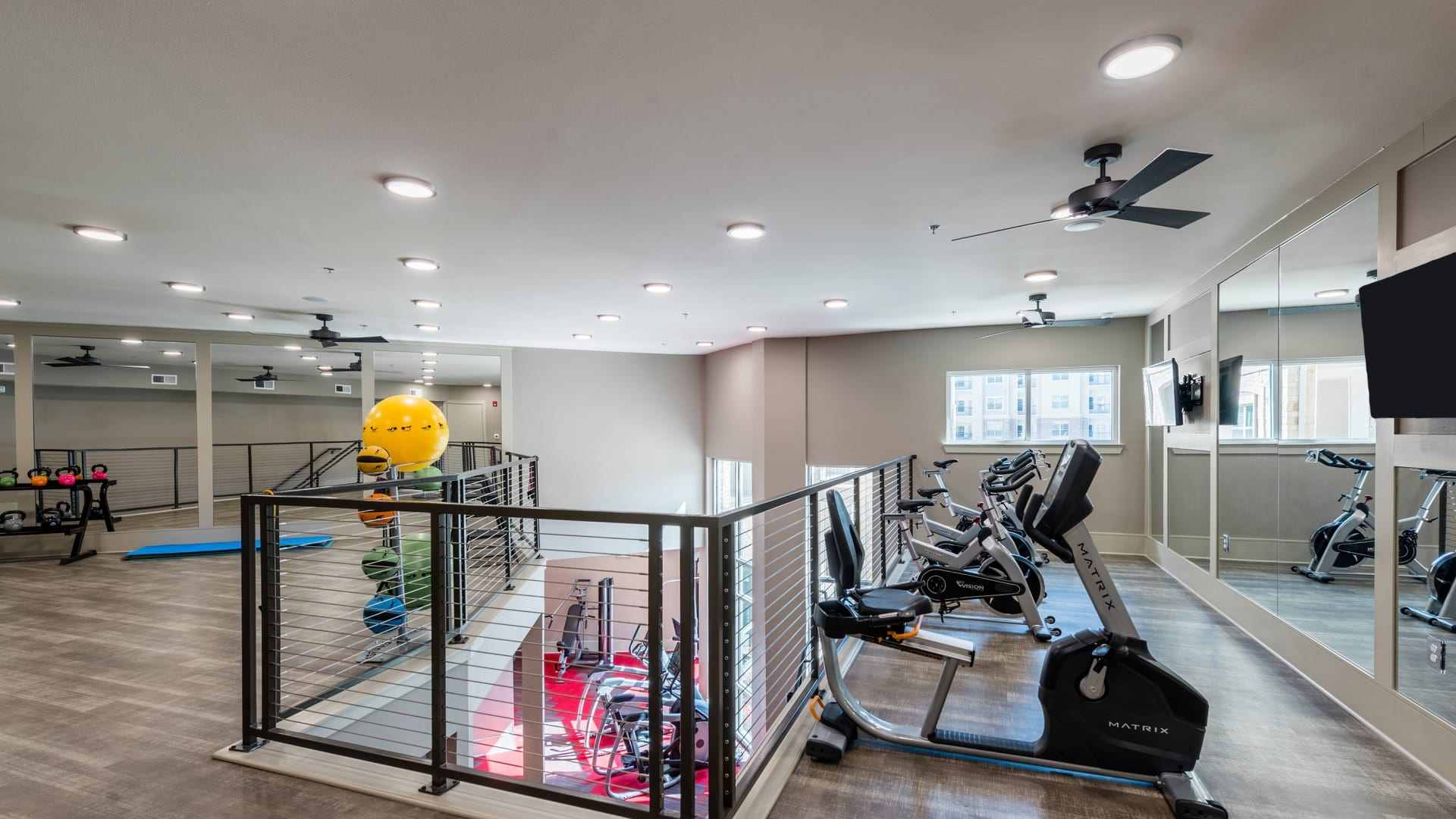 2-Story Fitness Center with Spin Studio