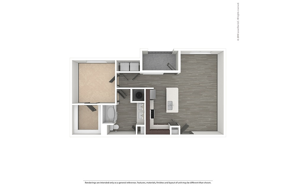 A4 Unfurnished Rendering   Phillips Creek Ranch