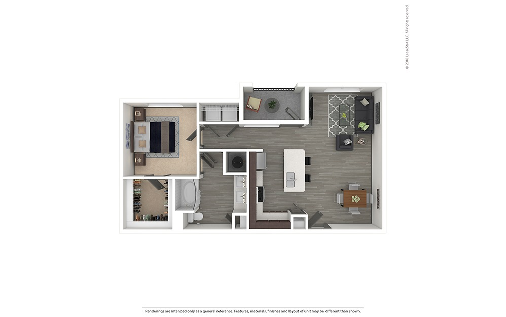 A4 Furnished Rendering   Phillips Creek Ranch