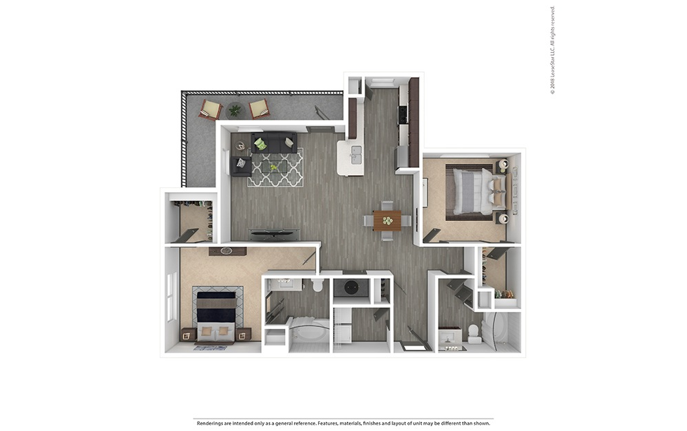 B2 Furnished Rendering   Phillips Creek Ranch