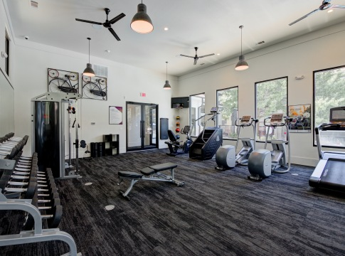 Fitness Center at The Aspect