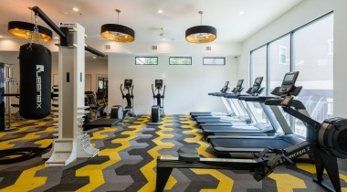 Galleria Dallas apartments with gyms