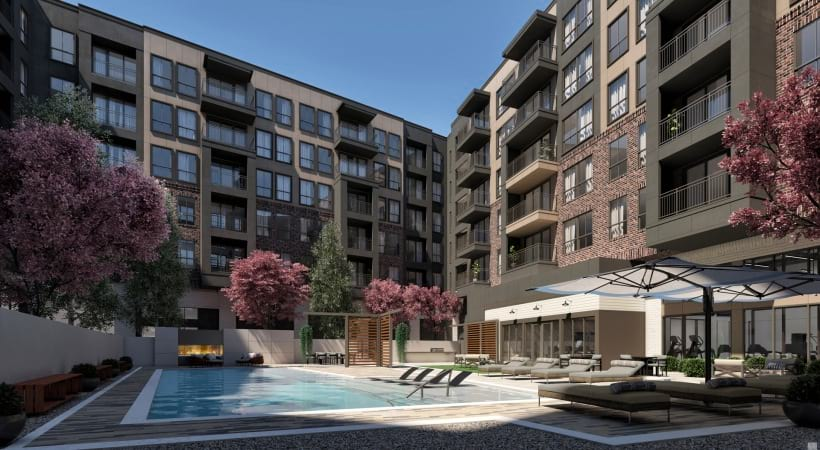 55 and over apartments with swimming pool