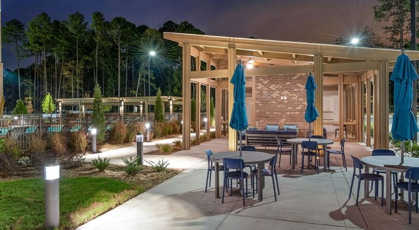 Lounge with Umbrellas