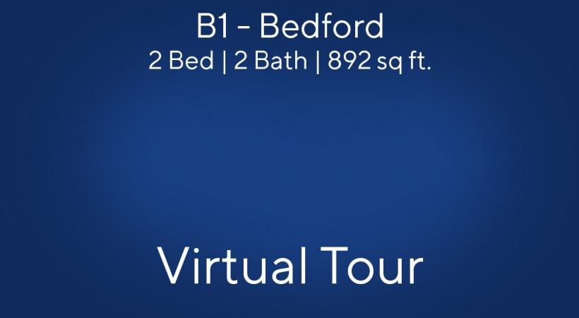 Virtual Tour of our B1 - Bedford Floor Plan