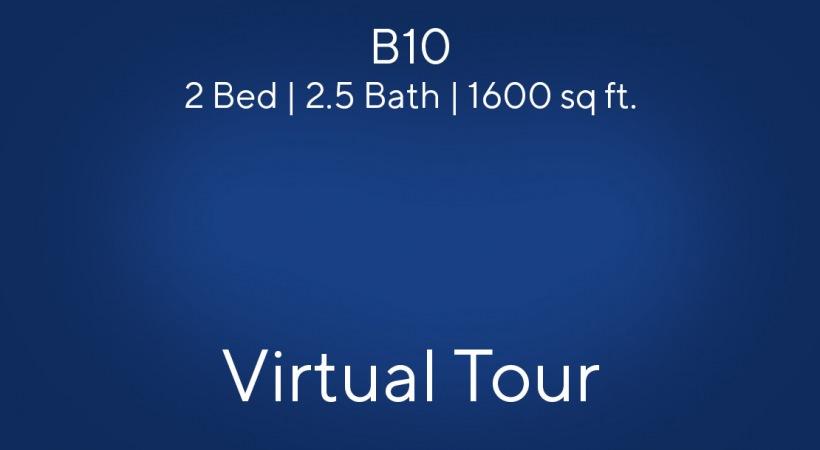 B10 Virtual Tour | 2 Bed/2.5 Bath