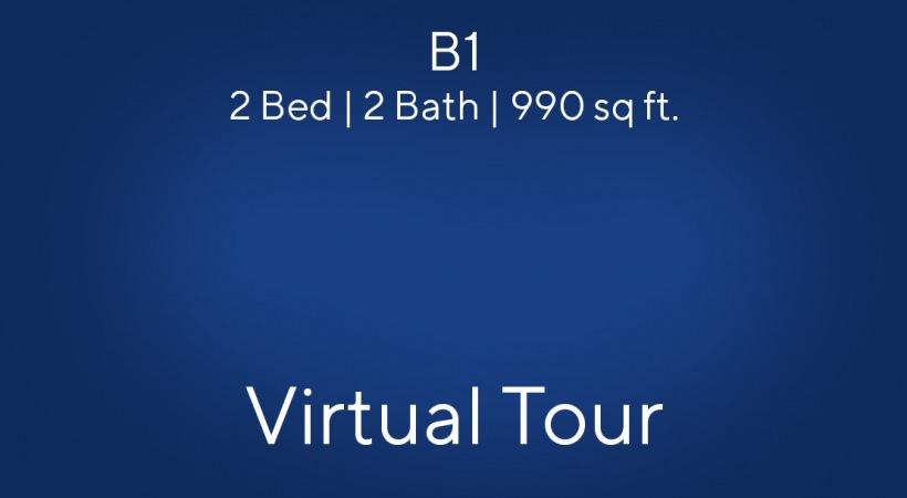 B1 Floor Plan Virtual Tour | 2 Bed/2 Bath