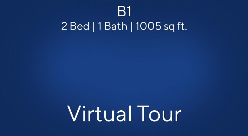 2 bedroom apartment floor plan Virtual Tour