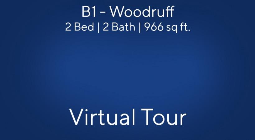 B1 - Woodruff Virtual Tour | 2 Bed/2 Bath