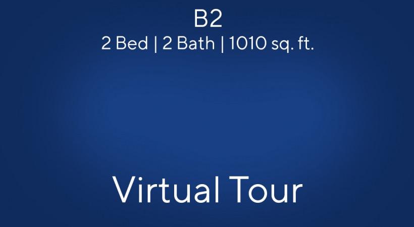 B2 2 Bed | 2 Bath | 1010 sq. ft.