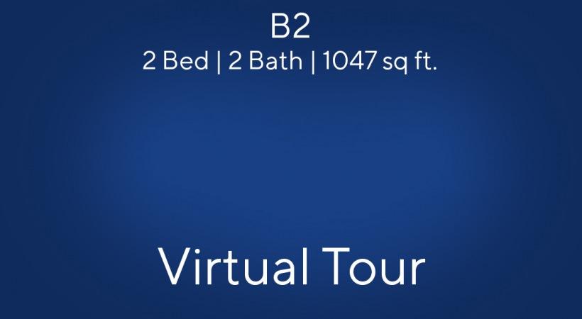 B2 Floor Plan Virtual Tour | 2 Bed/2 Bath