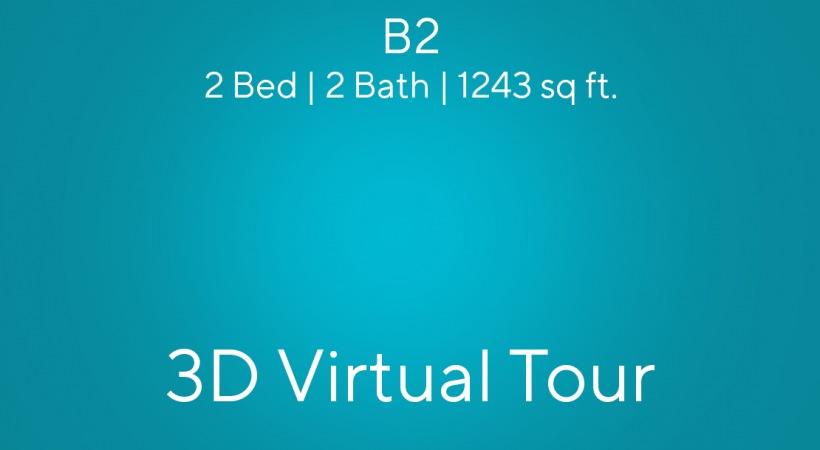 B2 Virtual Tour | 2 Bed/2 Bath