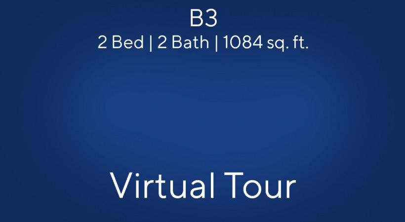 B3 2 Bed | 2 Bath | 1084 sq. ft.