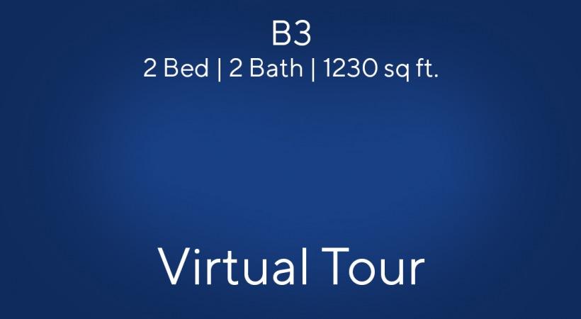 B3 Virtual Tour   2 Bed/2 Bath