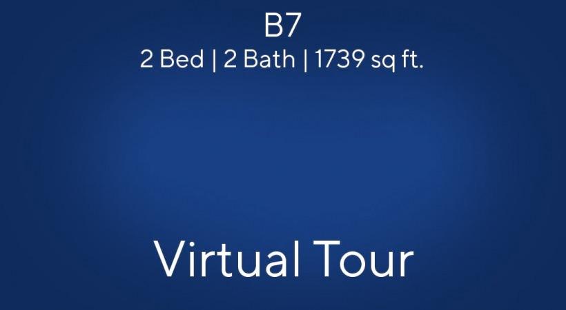 B7 Virtual Tour   2 Bed/2 Bath