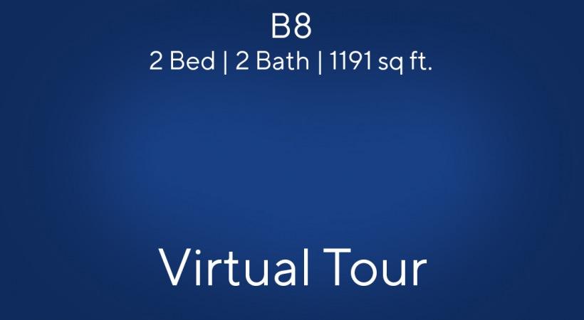 B8 Virtual Tour | 2 Bed/2 Bath