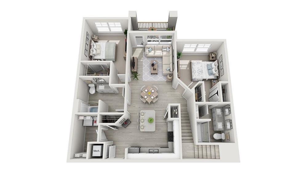 DeSoto Floor Plan