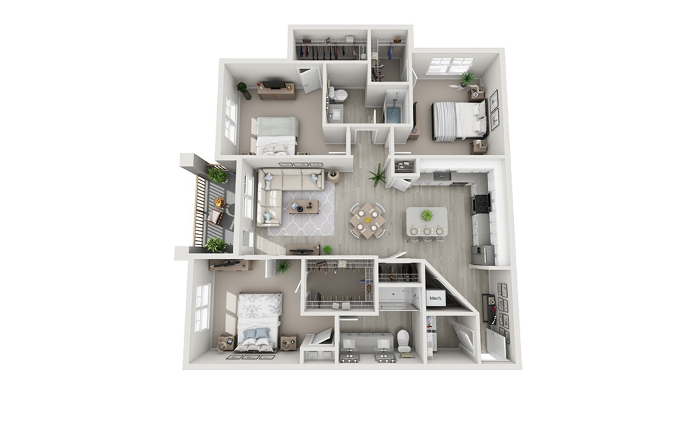 Redington Floor Plan