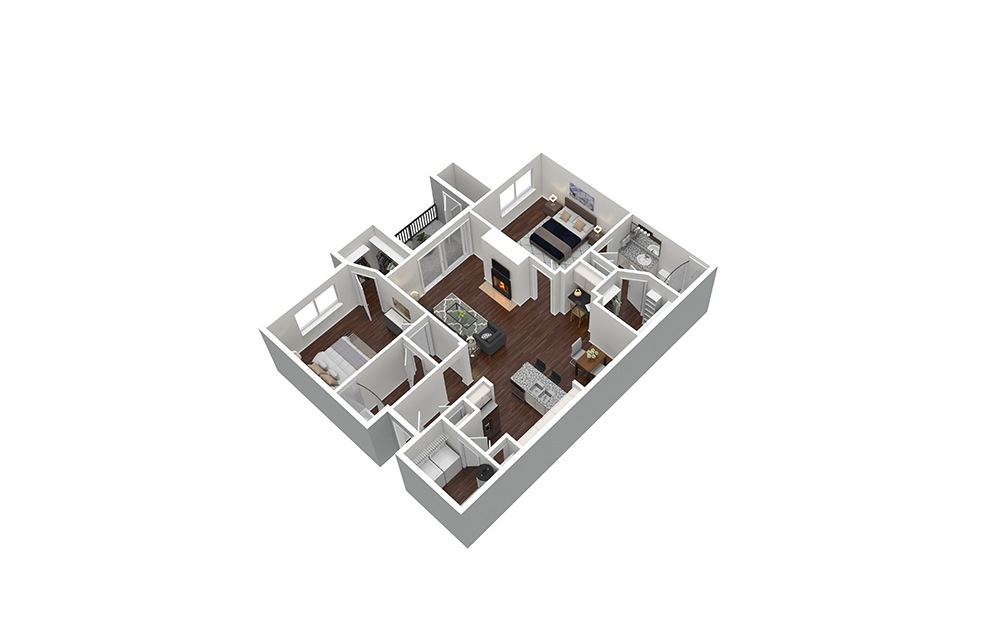 The Harwood Furnished Rendering