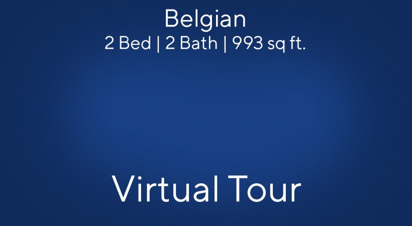 Belgian Virtual Tour | 2 Bed/2 Bath