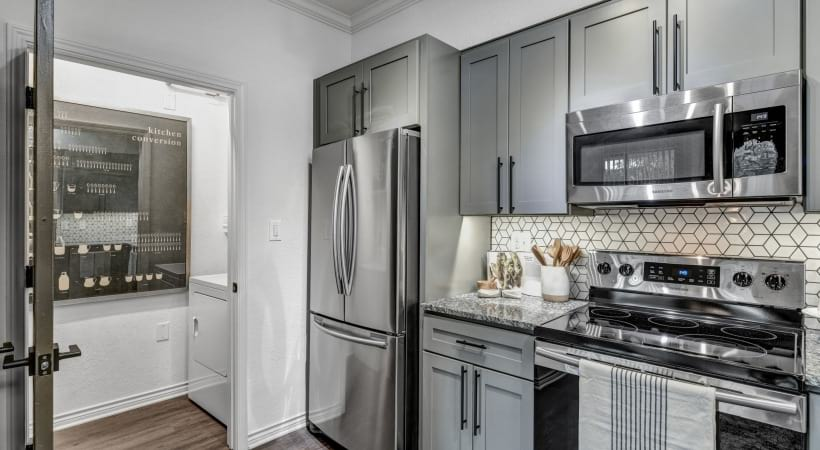 Energy-Efficient Stainless Steel Appliances
