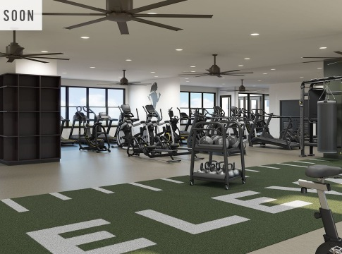 apartments with a gym