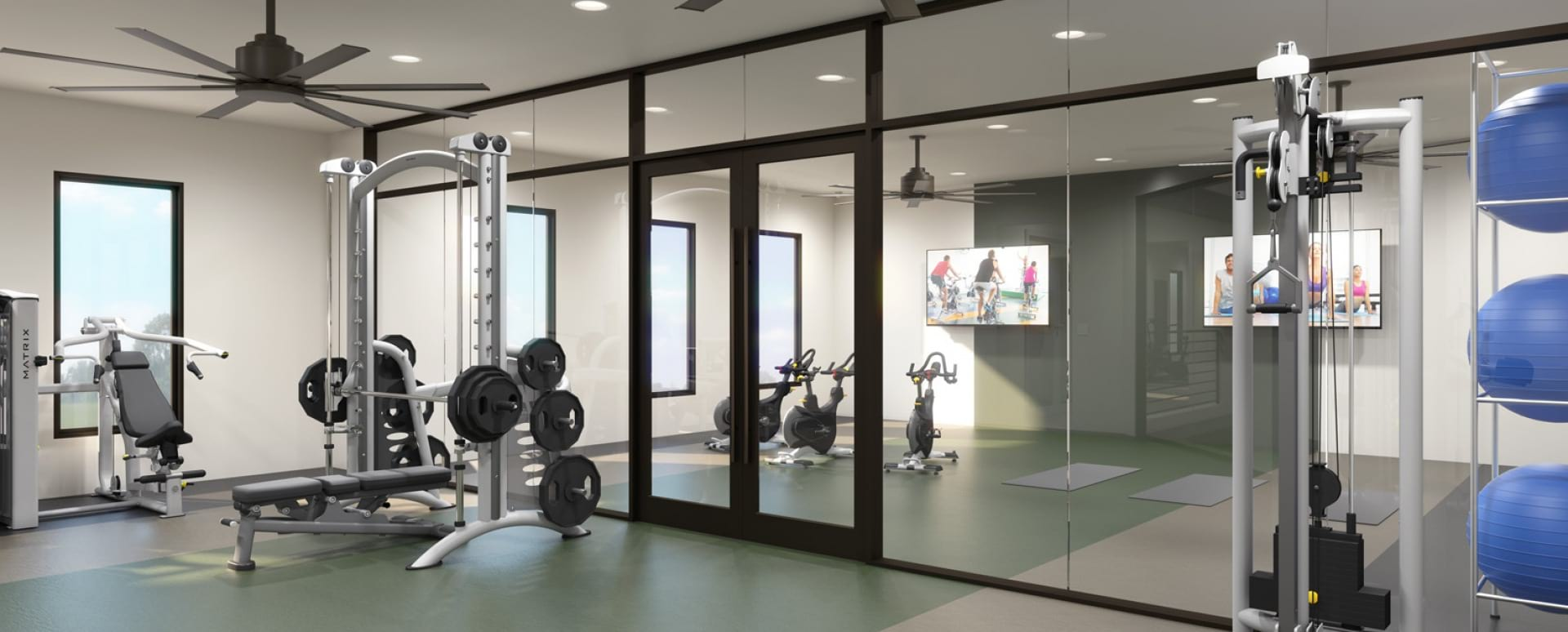 Newly-Renovated Fitness Center