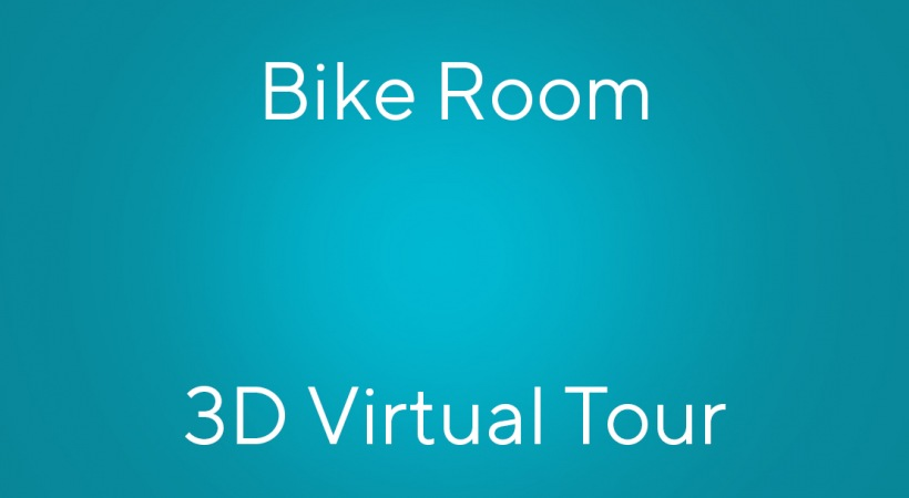 A 3d apartment tour of our bike room with repair area and bike rentals at our Charlotte apartments