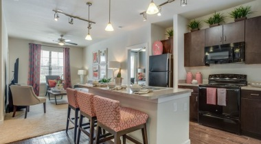 Spacious apartment kitchen at our apartments near Alamo Heights