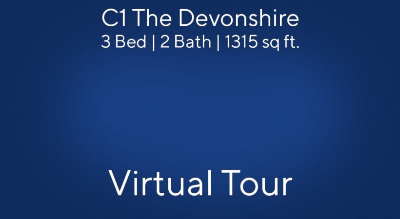 C1 The Devonshire Virtual Tour | 3 Bed/2 Bath