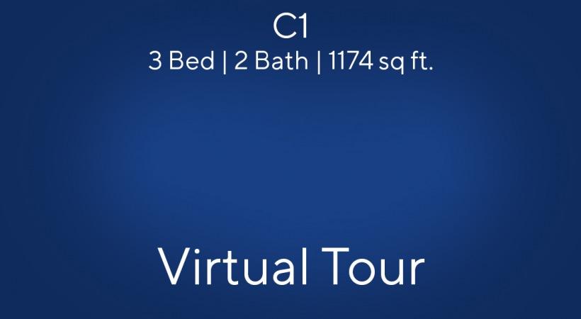 Virtual Tour of our C1 Floor Plan