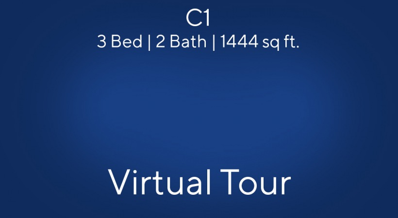 C1 Virtual Tour | 3 Bed/2 Bath