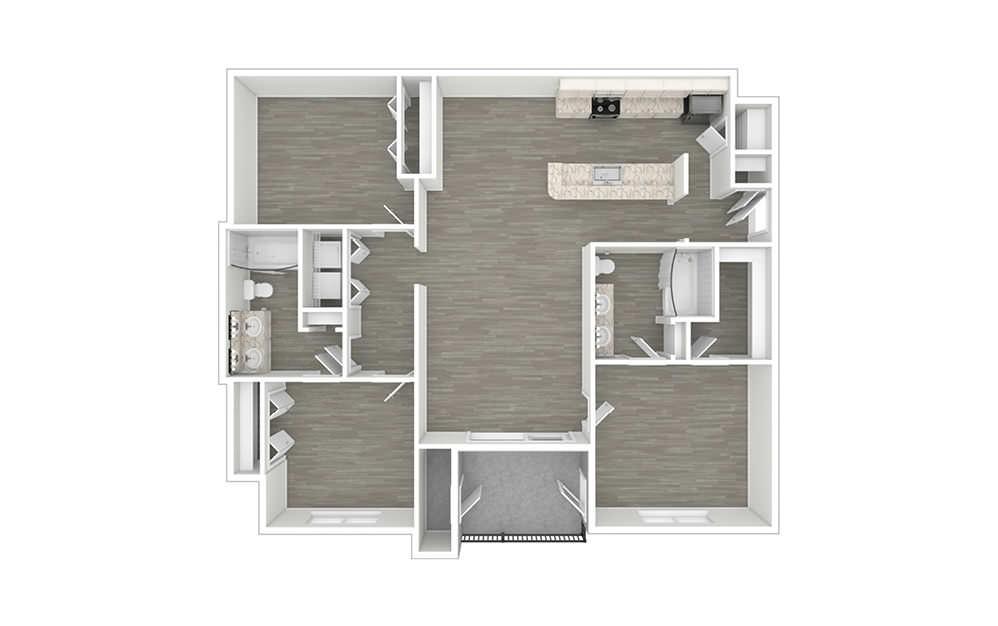 Westridge 3 bedroom 2 bath 1299 square feet (1)