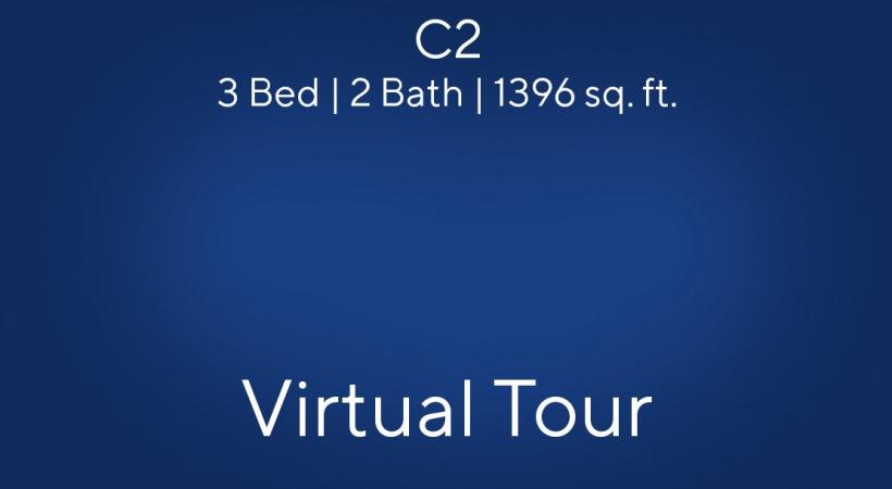 C2 3 Bed | 2 Bath | 1396 sq. ft.