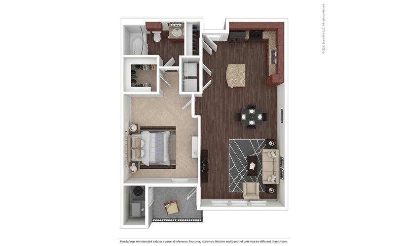 Messina Floor Plan