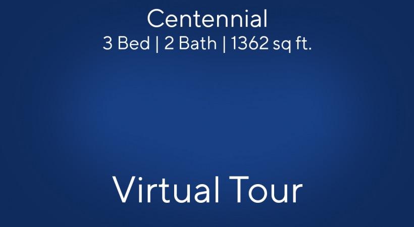 Centennial Virtual Tour | 2 Bed/2 Bath