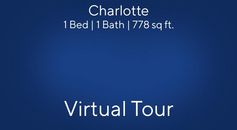 Charlotte Virtual Tour | 1 Bed/1 Bath