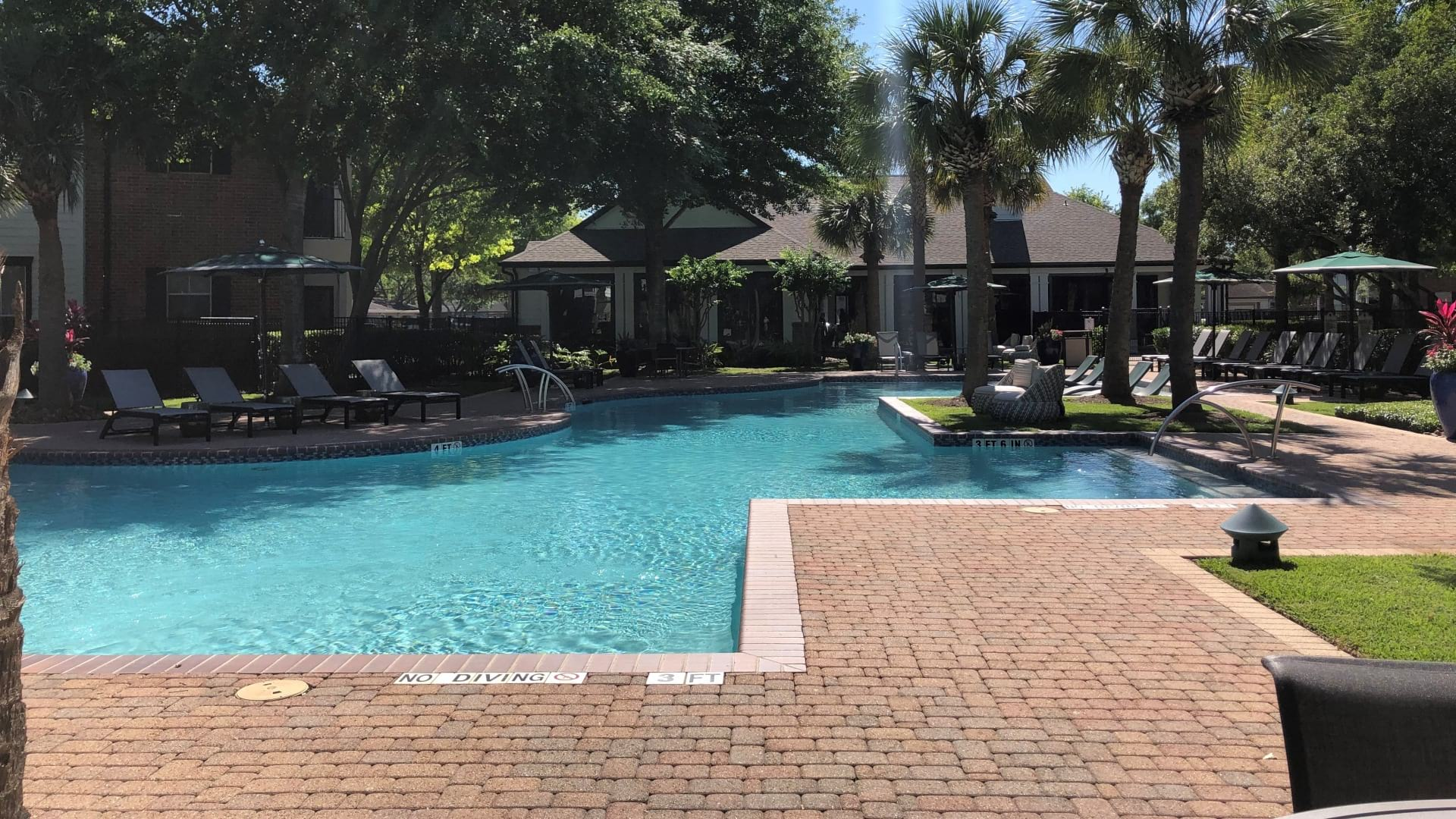 Resort Style Pool at Our Deer Park Apartments