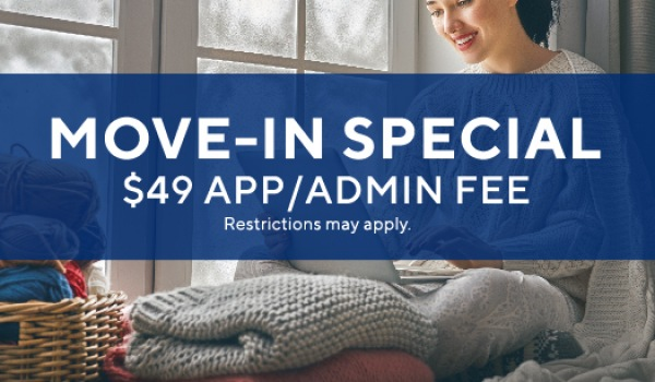 Special: $49 application and admin. fee.