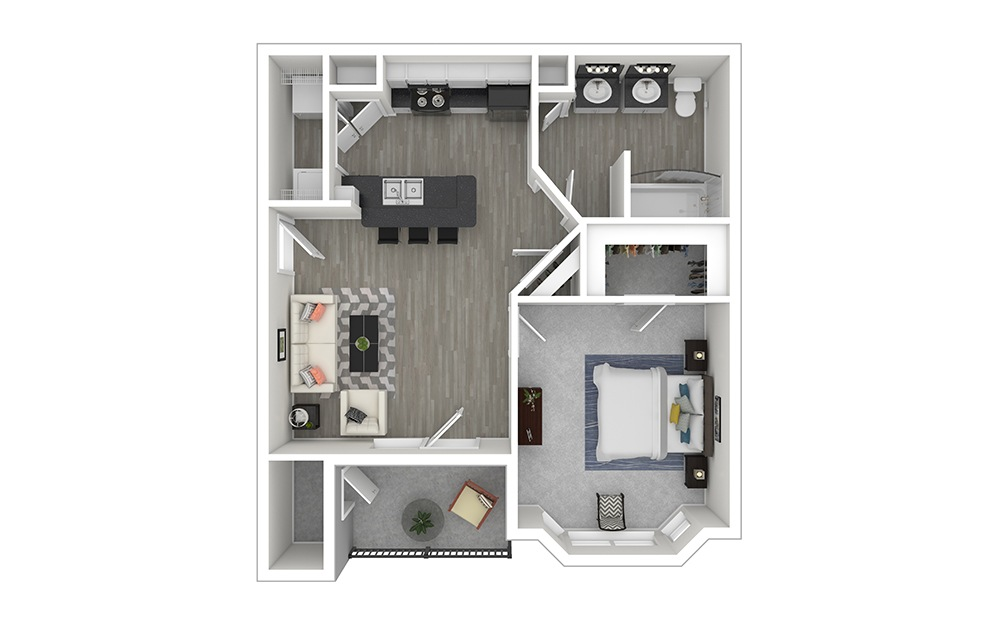 Autry Furnished Rendering | Copper Springs