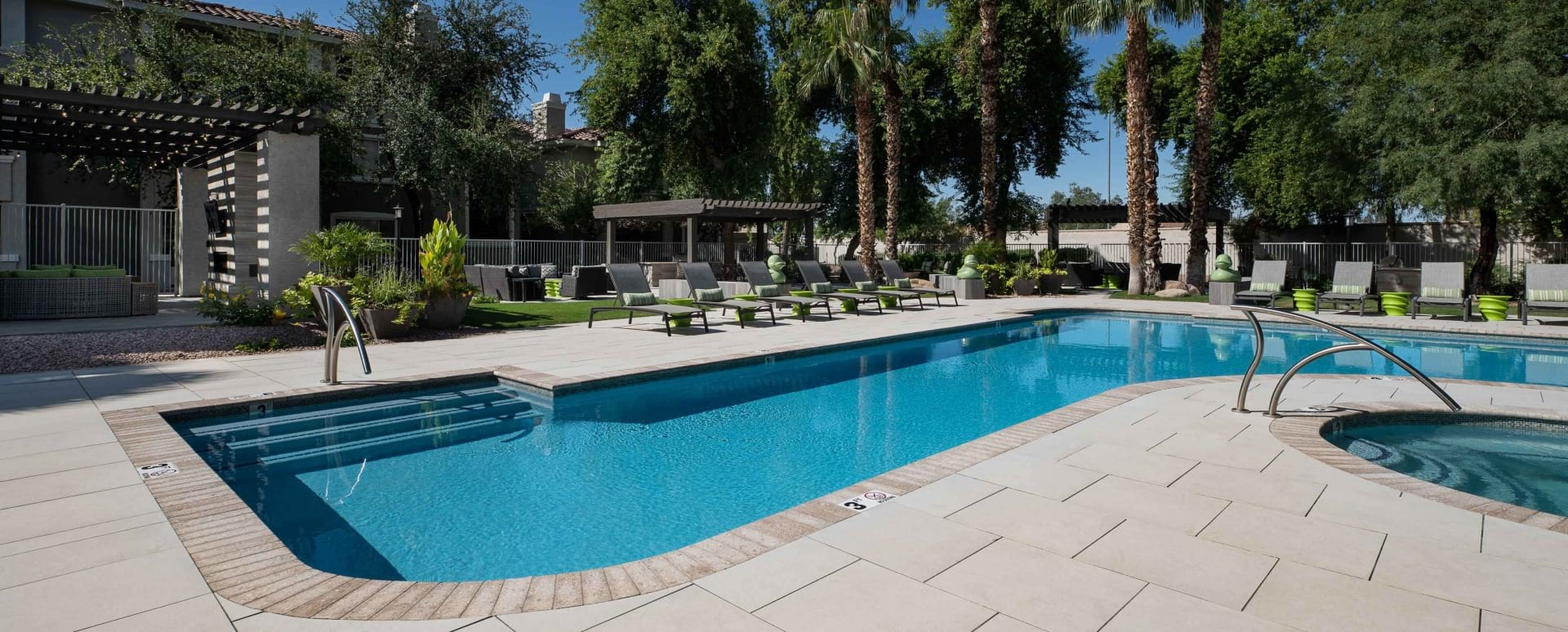 Newly Renovated Pools and Sun Deck