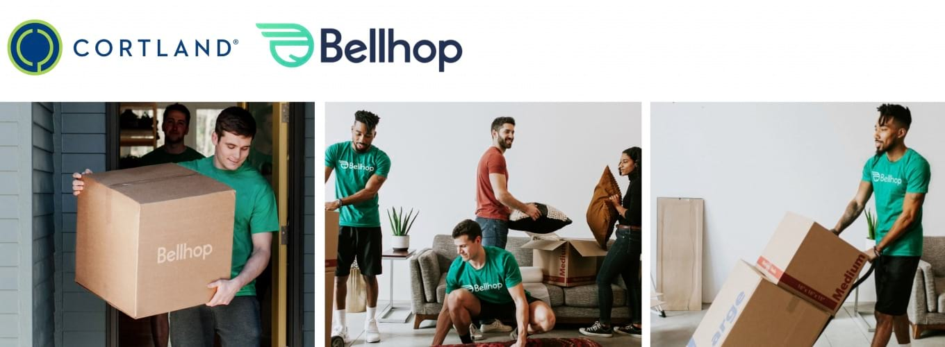 Cortland and Bellhop Partner to Make Moving a Breeze