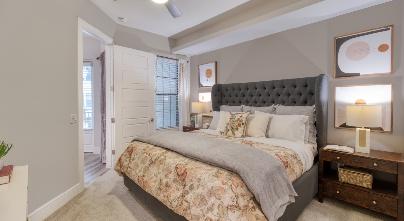 Spacious Bedrooms at Cortland Biltmore Apartments