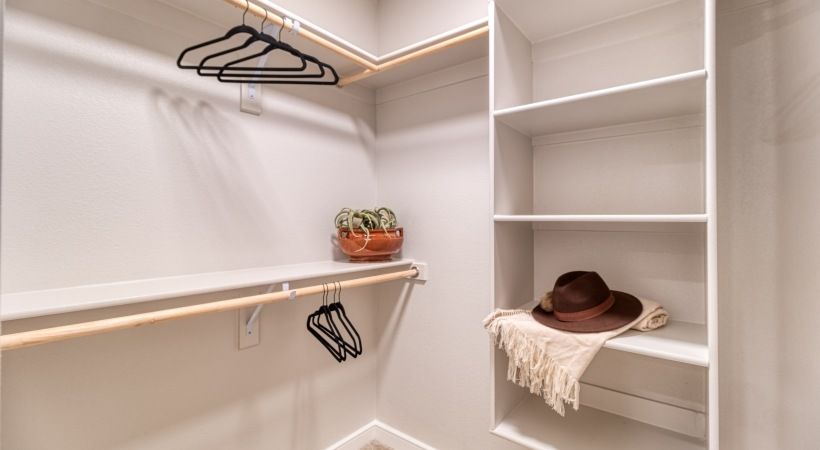 Spacious Walk-In Closets at Cortland Biltmore