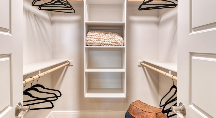 Spacious Walk-In Closets at Cortland Biltmore Apartments