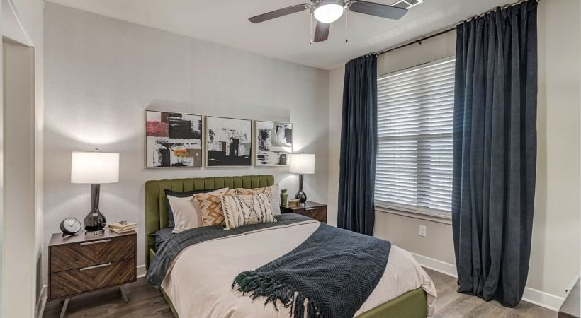 Modern Lighting at Cortland Brackenridge Apartments