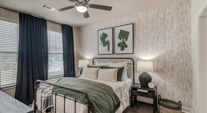 Ceiling Fans in the Bedrooms